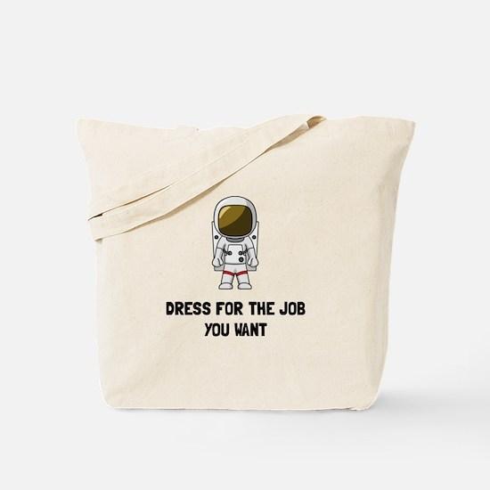 Astronaut Dress Tote Bag