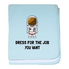 Astronaut Dress baby blanket