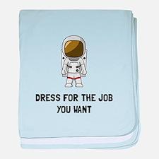 Astronaut Dress baby blanket