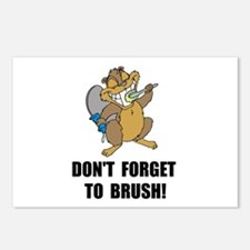 Beaver Brush Postcards (Package of 8)