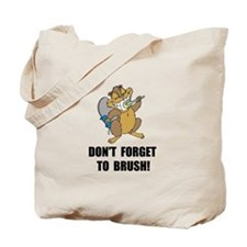 Beaver Brush Tote Bag