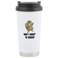 Beaver Brush Travel Mug
