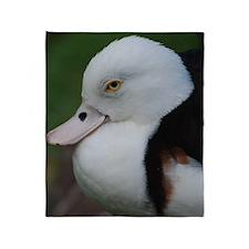 Cute Duck Throw Blanket