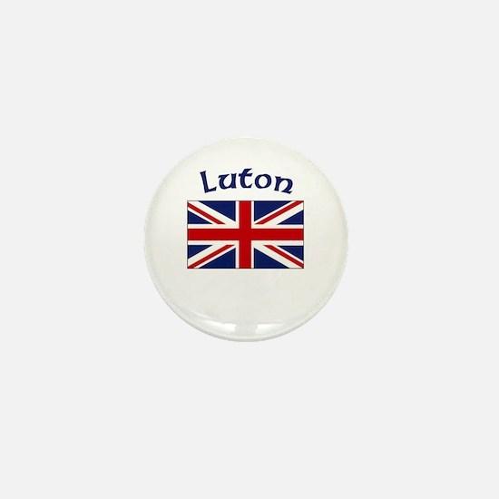 Luton, England Mini Button