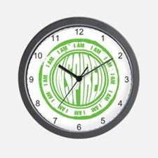 I AM Inspired Wall Clock