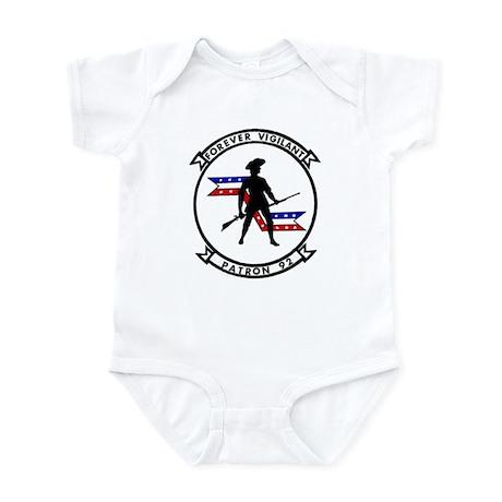 VP 92 Forever Vigilant Infant Bodysuit