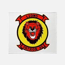 VP 90 Lions Throw Blanket
