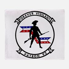 VP 92 Forever Vigilant Throw Blanket