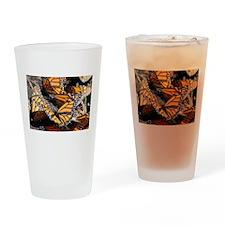 Monarch Butterflies 1 Drinking Glass