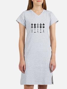 Vintage fashion mannequins Women's Nightshirt