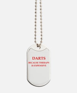 darts Dog Tags