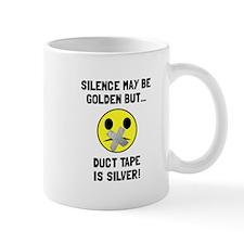 Duct Tape Silver Mugs