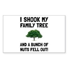 Family Tree Nuts Decal