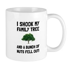 Family Tree Nuts Mugs
