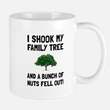 Family Tree Nuts Mugs