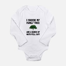 Family Tree Nuts Body Suit