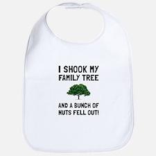 Family Tree Nuts Bib