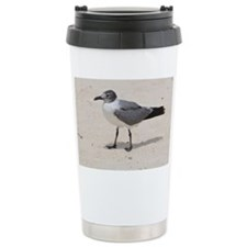Laughing Gull Standing  Travel Mug