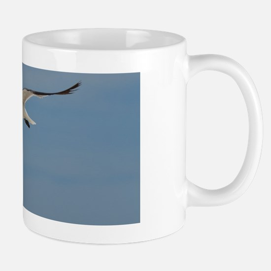 Flying Laughing Gull Mug