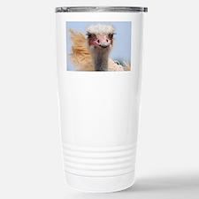 Ostrich Feathers Travel Mug