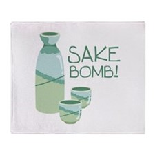 Sake Bomb! Throw Blanket