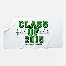 Bandnerd Class Of 2015 Beach Towel