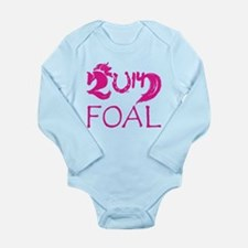 Foal 2014 Filly Horse Long Sleeve Infant Bodysuit