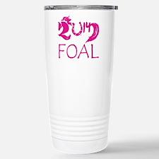 Foal 2014 Filly Horse Travel Mug