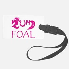 Foal 2014 Filly Horse Luggage Tag