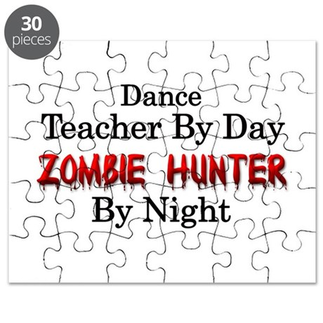 Dance Teacher/Zombie Hunter Puzzle