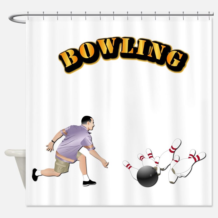 Sports - Bowling Shower Curtain