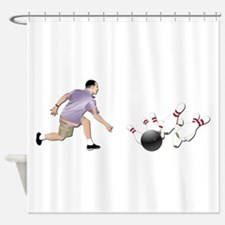 Sports - Bowling - No Txt Shower Curtain