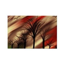 stormy sky by tia knight Rectangle Magnet