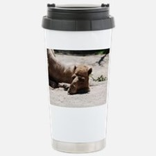 Camel with His Head Dow Travel Mug