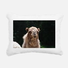 Inquisitive Camel Rectangular Canvas Pillow