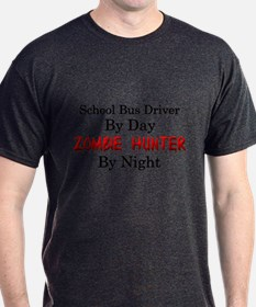 School Bus Driver/Zombie Hunter T-Shirt