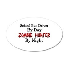 School Bus Driver/Zombie Hun Wall Decal