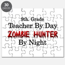 9th. Grade Teacher/Zombie Hunter Puzzle