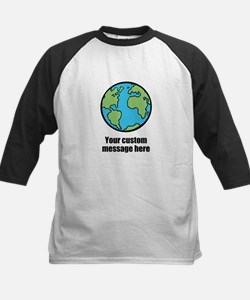 Make your own custom earth message Baseball Jersey