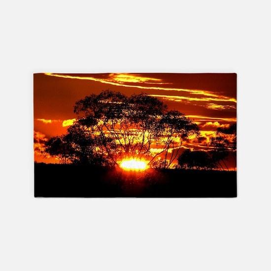 Golden Sunset 3'x5' Area Rug