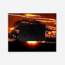 Golden Sunset Picture Frame