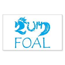 Foal 2014 Colt Horse Decal
