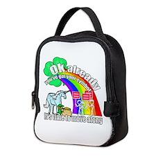 Take back the rainbow Neoprene Lunch Bag