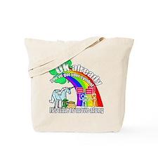 Take back the rainbow Tote Bag