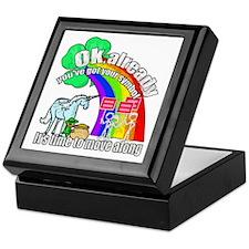 Take back the rainbow Keepsake Box