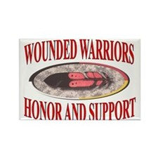 HONOR WOUNDED WARRIORS Magnets