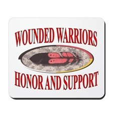 HONOR WOUNDED WARRIORS Mousepad