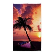 Sunset with Boot 3'x5' Area Rug