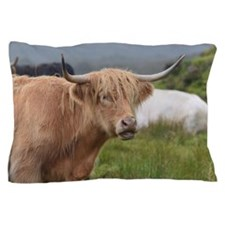 Sweet Highland Cow Pillow Case