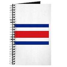 Costarican flag Journal